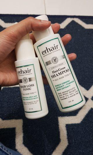 Hair grow shampoo dan hair loss tonic