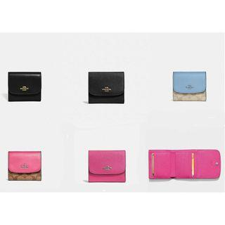 🚚 NEW Coach Small Wallets