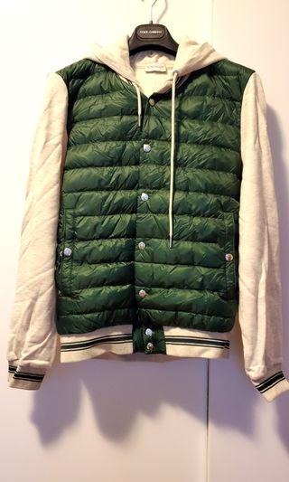 Moncler jersey down hoodie