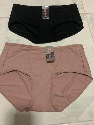 Plus size XXL panties / underwear 2 colours