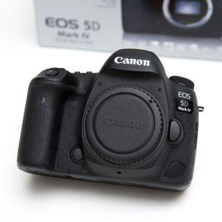🚚 Canon 5D Mk IV (LOW SHUTTER COUNT, LIKE NEW)
