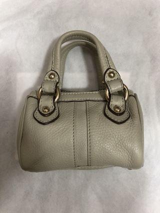 Max Mara mini leather cross body bag