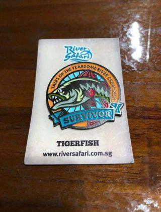 Out of production - River Safari Pin
