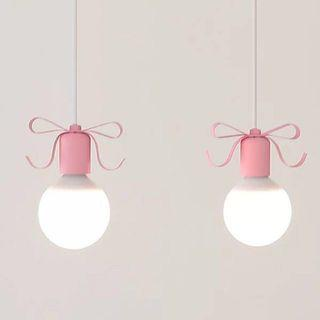 Mediterranean Style Ribbon Hanging Lights 蝴蝶结吊灯