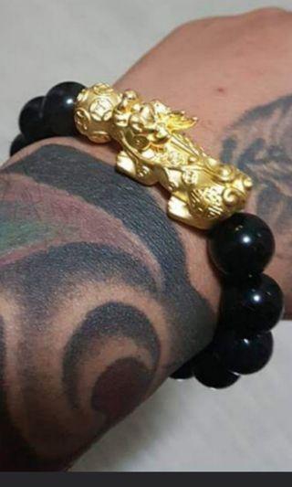 🚚 Pixiu Bracelet 999 gold