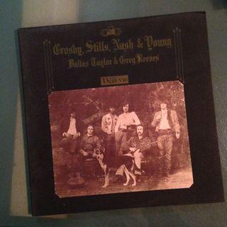 Lp Crosby Still Nash & Young (Deja Vu) vinyl record
