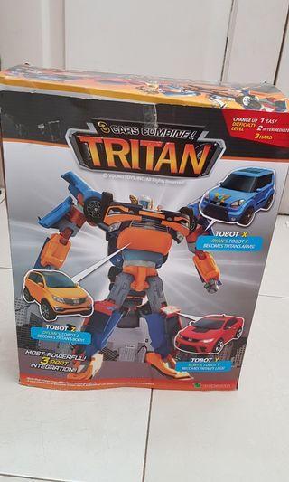 Tobot XYZ TRITAN 3 Cars Combine