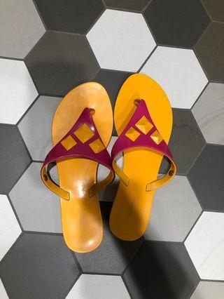 Preloved Melissa Yellow Sandels