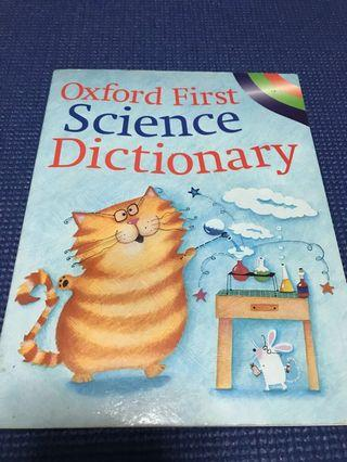 🚚 Oxford first science dictionary