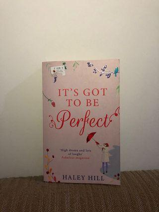It's Got to be Perfect by Halley Hill (English)