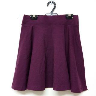 Maroon High Waist Skirt #MGAG101