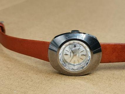 古董 Rado Diastar 「永不磨損型」金屬陶瓷外殼手上弦女裝手錶
