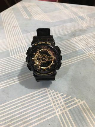 Casio G-shock 手錶 GA-110CS-4ADR 黑金