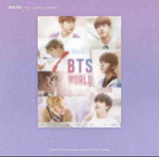 [WTS] BTS WORLD OST SOUNDTRACK ALBUM POSTER