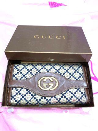Gucci wallet authentic 100% turun harga jd 1jt aja
