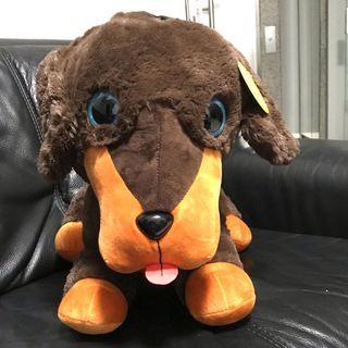 Giant Sausage Dog soft toy - Bananas brand