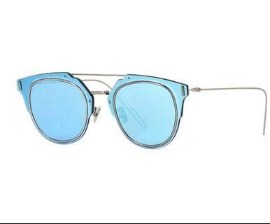 Dior Composit 1.0 Sunglasses Mirror Blue