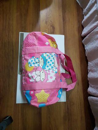 🚚 三麗鷗 雙子星 睡衣 旅行袋 旅行包