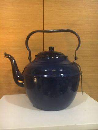 Royal Blue Antique Kettle/ Pot