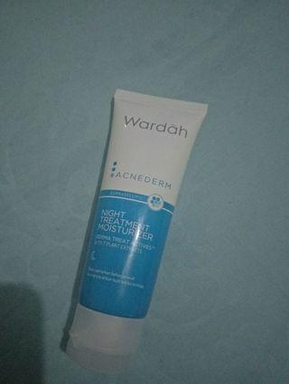 #maugopay wardah acnederm night treatment moisturizer