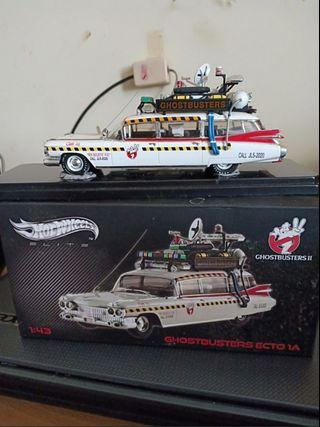 Ghost busters ecto1a 1:43