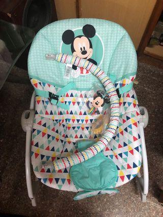 迪士尼寶寶安撫椅~