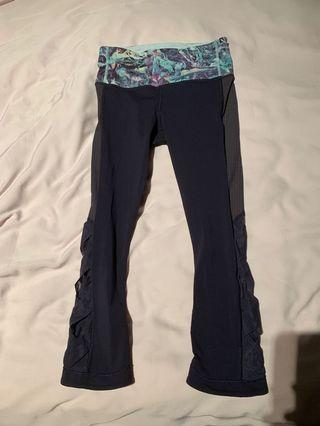 Lululemon cropped tights size 2