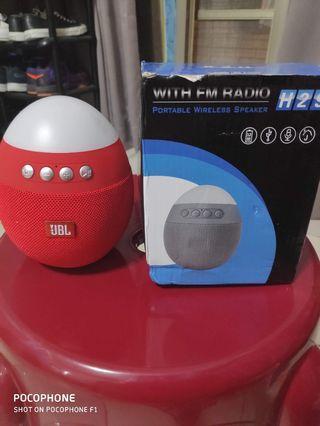 🚚 Bluetooth Speaker w/ FM Radio