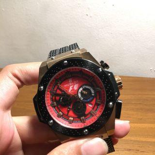 Jam tangan Hublot F1