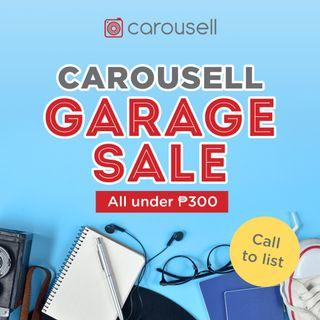 Carousell Garage Sale (Call to List)