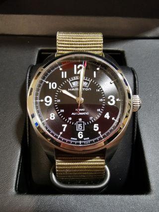 90% 新 Hamilton khaki field H70505733 手錶