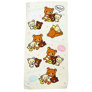 鬆弛熊 毛巾 浴巾 Rilakkuma