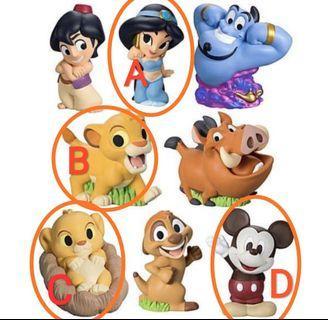 Disney Friends2 迪士尼盒蛋 米奇 苿莉公主