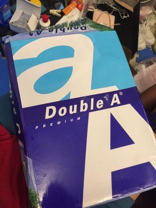 🚚 Double A A4用紙