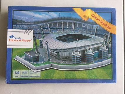 Manchester City Etihad Stadium - 3D Puzzle