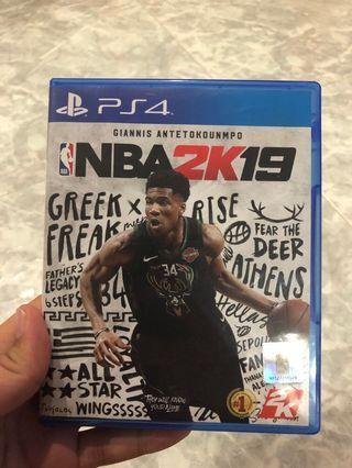 🚚 NBA 2K19 (Ps4)