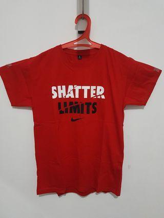 "Kaos Nike Merah ""Shatter Limits"" T-Shirt"