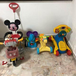 Ride on toys bundle
