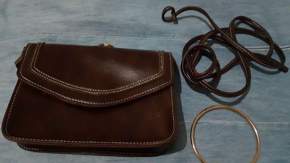 Brand new three-way purse