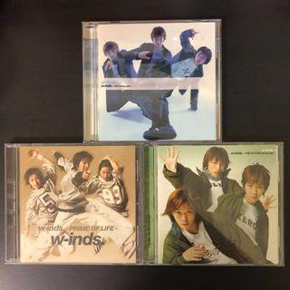 WINDS~第1-3張專輯