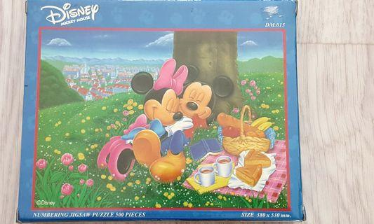🚚 Disney Jigsaw Puzzle 500 pieces #MRTYISHUN