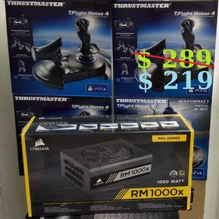 CORSAIR RM1000X RMX SERIES 80+ GOLD 1000W (10Y)..., or Walk in Tonite for better Offer Rate..,  (# Sales Offer Till 31/7/2019 While our Supplies Last...,.)