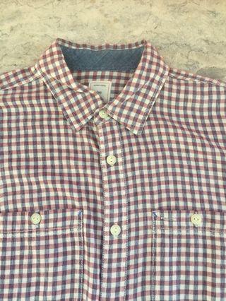 Gap Checkered Long Sleeves Size M