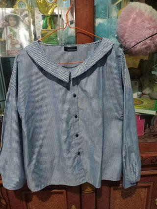 Tops blue stripe