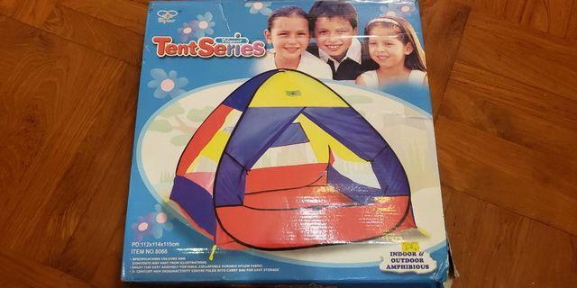 兒童帳篷 + 波波