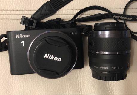 Nikon J2 Kit, 10-30mm, 30-110mm