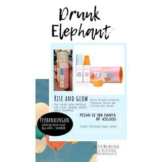 Rise Glow Duo Drunk Elephant #SociollaCarousell