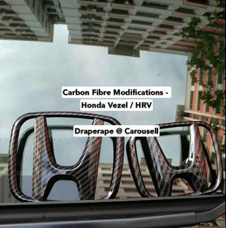 🚚 Carbon Fibre / Gloss Black Modifications - Honda Vezel / HRV
