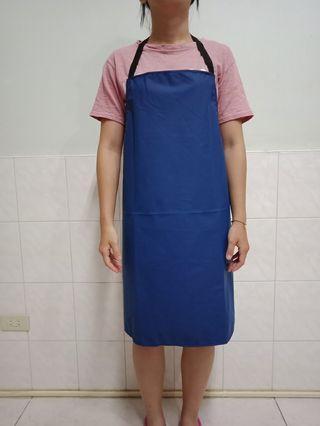 🚚 藍色 工作圍裙