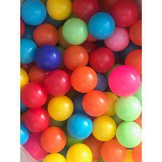 Plastic Soft Air-Filled Pit Balls